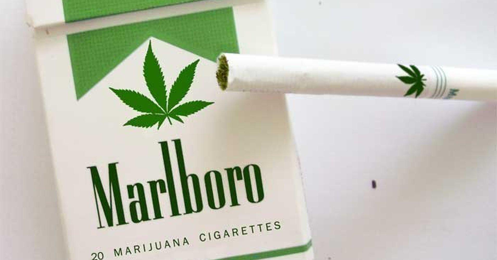 Más Falso que Marlboro M, el nuevo cigarrillo con marihuana