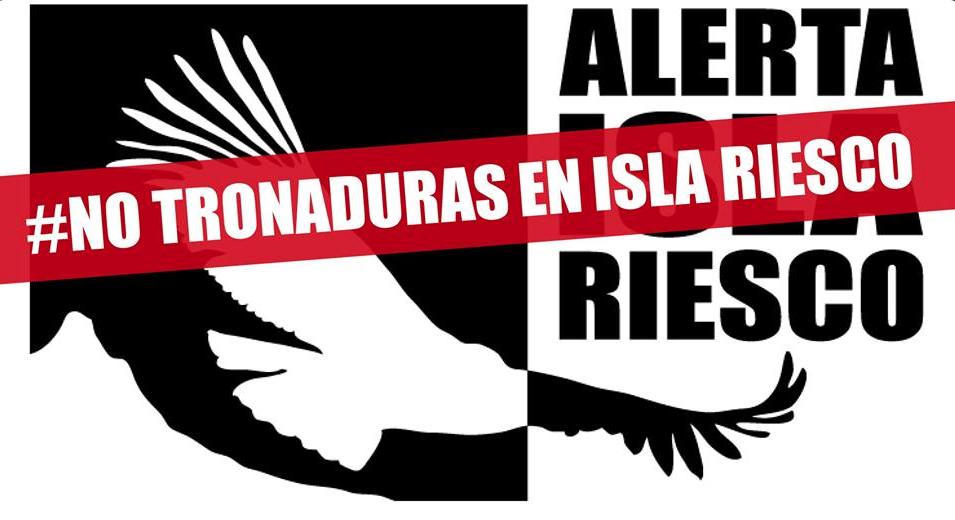 #NoTronaduras: Alertan posible uso de explosivos por parte de Mina Invierno en Isla Riesco