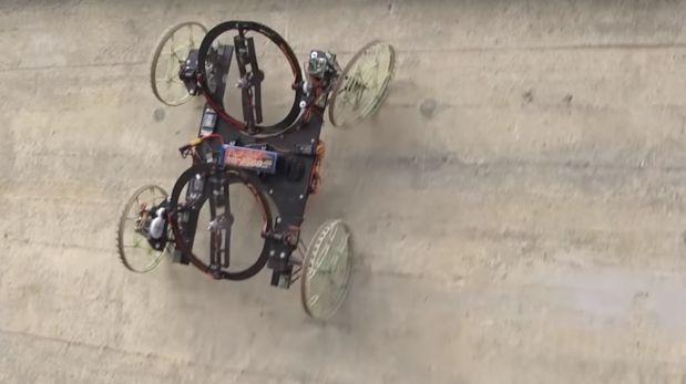 Conoce a «VertiGo», el robot de Disney que puede trepar paredes y que esperamos no lo usen para llevar armamento