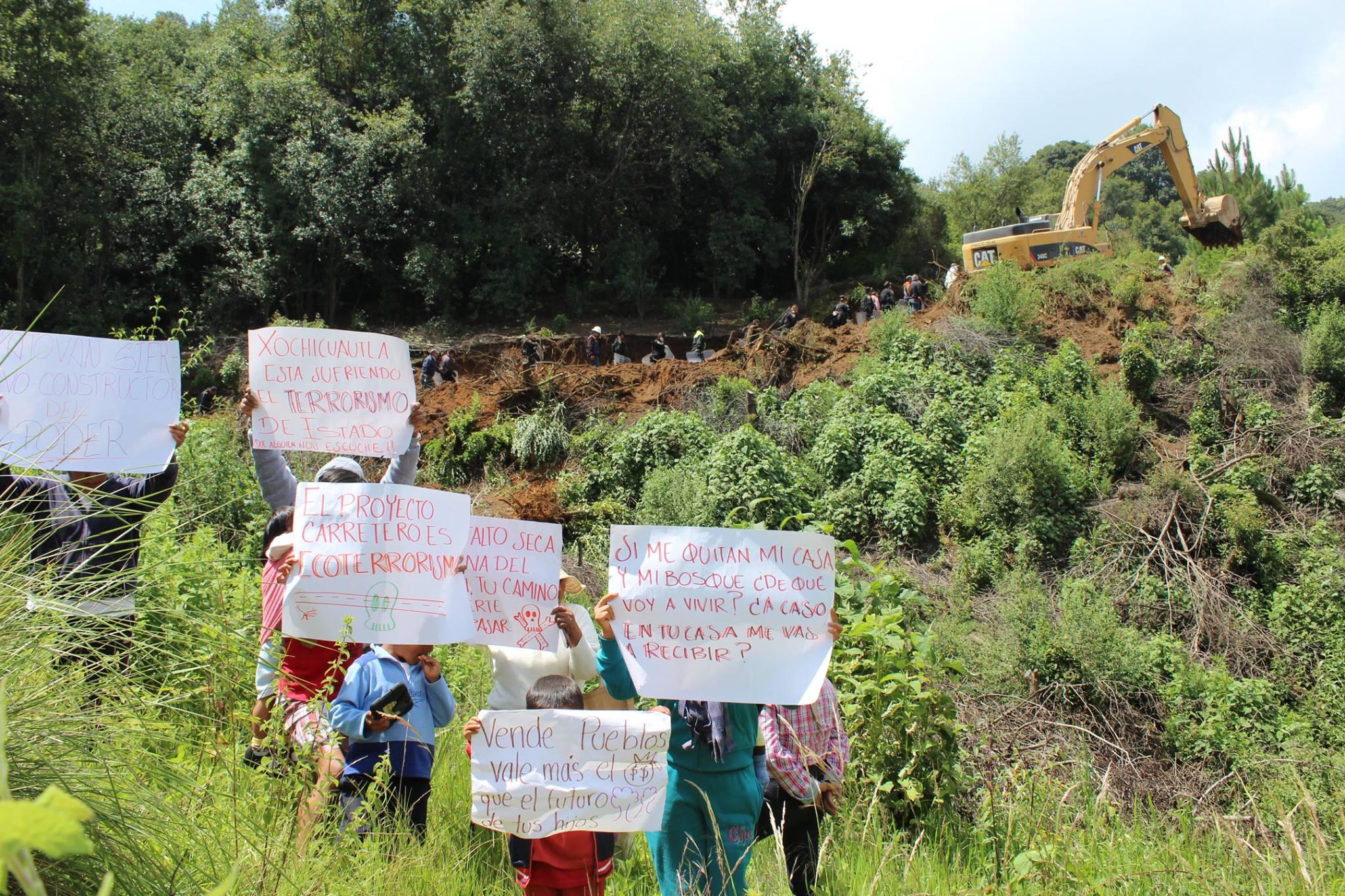 Indígenas Otomíes rechazan proyecto carretero Toluca- Naucalpan