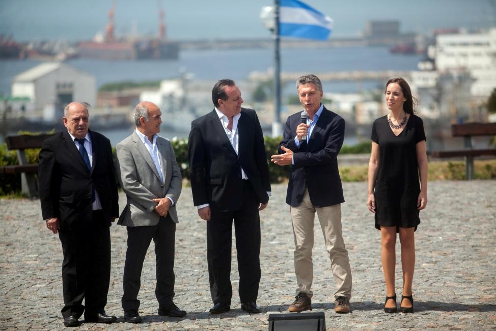 Luego de las vacaciones, Macri retomó la agenda pública con un acto en Mar del Plata