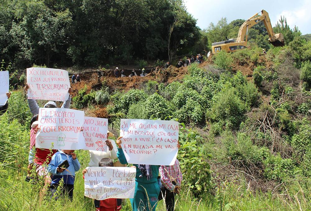 Xochicuautla logra suspensión del decreto expropiatorio de su territorio