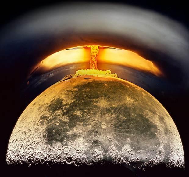 El día en que EE.UU. planeaba detonar una bomba nuclear en la Luna