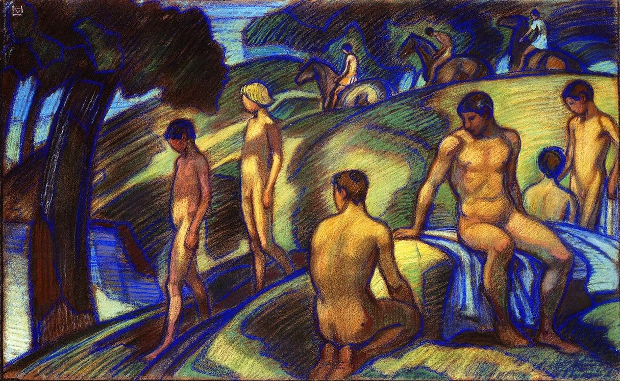 Un pintor olvidado que tuvo grandes virtudes, entre ellas, la de ser precursor del expresionismo