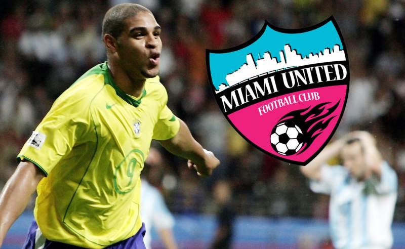 Adriano será presidente, socio y jugador de un club de la NSPL
