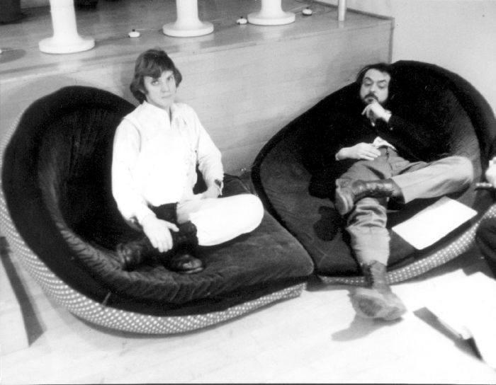 """Genial: Stanley Kubrick figura en 10 fotografías de """"La Naranja Mecánica"""""""