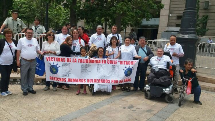 Víctimas de la Talidomida no pierden las esperanzas de que el Estado chileno asuma su responsabilidad
