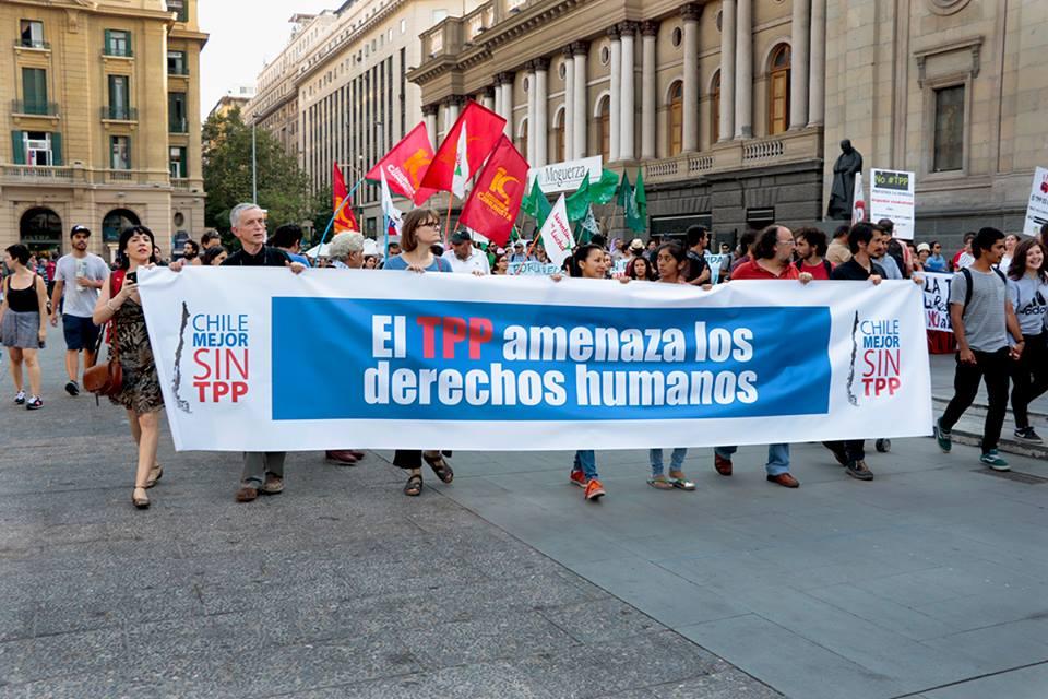 Confech se suma a rechazo al TPP y participará de movilizaciones