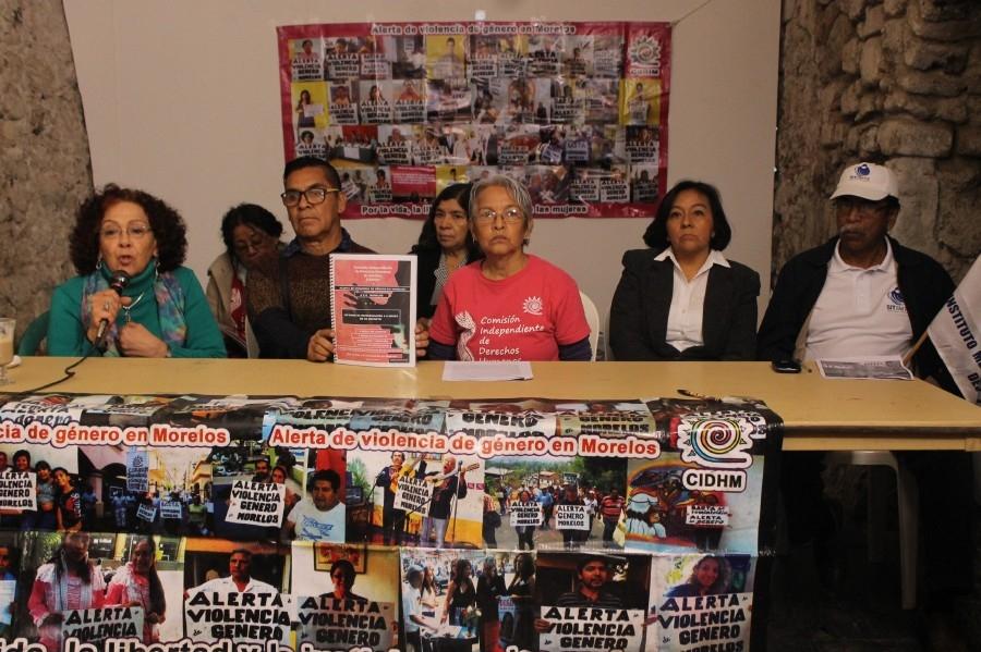 Presentan informe a seis meses de la Alerta de Genero en Morelos