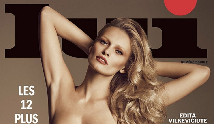Doce modelos posan desnudas en revista francesa por una buena causa