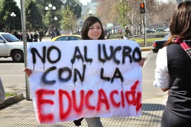 En Chile, la educación Sí se vende y NO se defiende: la fiscalía archivará el caso de lucro en las universidades