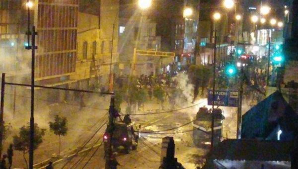 Perú: Policía reprime violentamente a manifestantes contra el TPP