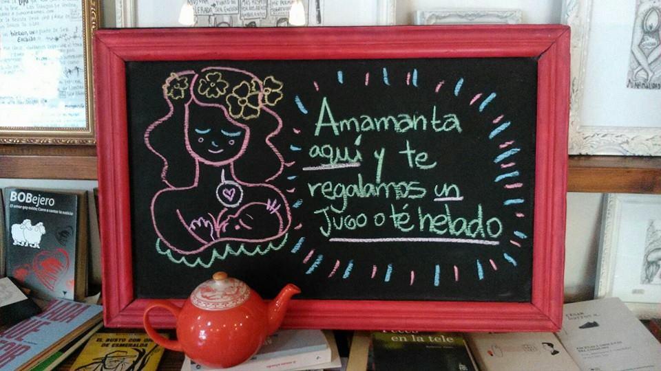 """""""Amamanta aquí"""": El acogedor ofrecimiento de cafés y restoranes para las mamás y sus bebés"""