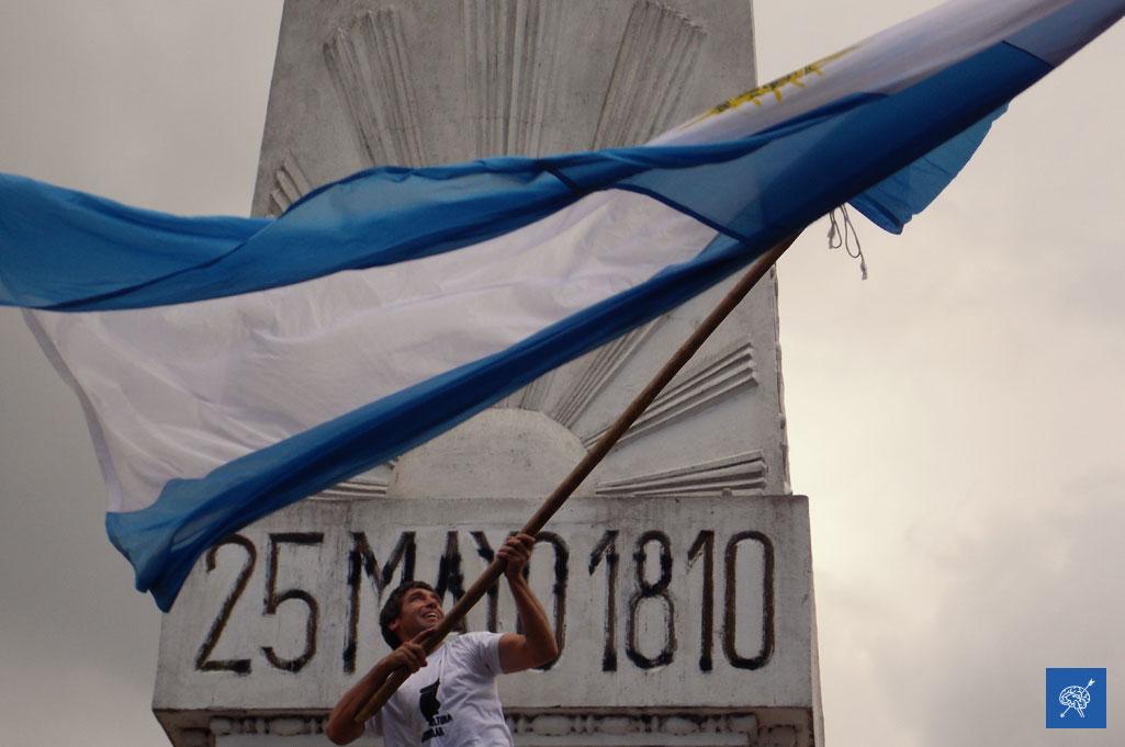 #FotoReportaje: Las fotos de la histórica marcha por el 40 aniversario del golpe cívico militar en Argentina
