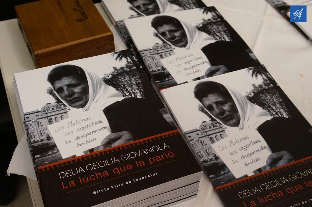 """""""La lucha que la parió"""": un libro sobre la voluntad y el amor de una de las fundadoras de Abuelas de Plaza de Mayo."""