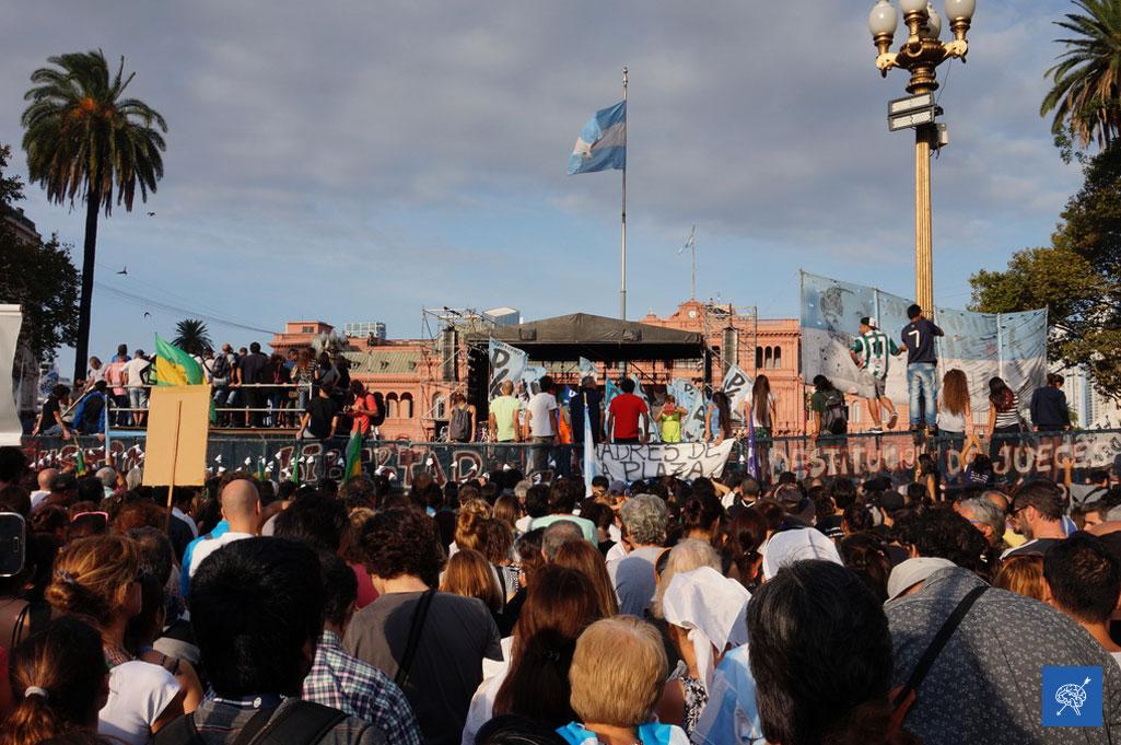 Nunca Más: la marcha por el 40 aniversario de los organismos de Derechos Humanos en Argentina