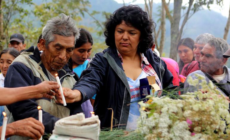 Organizaciones de DD.HH envían carta al gobierno de Honduras por muerte de activista Berta Cáceres