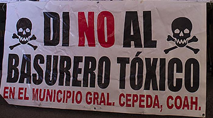Se unen personalidades y ambientalistas al rechazo de la instalación de basureros Tóxicos en SLP y Coahuila