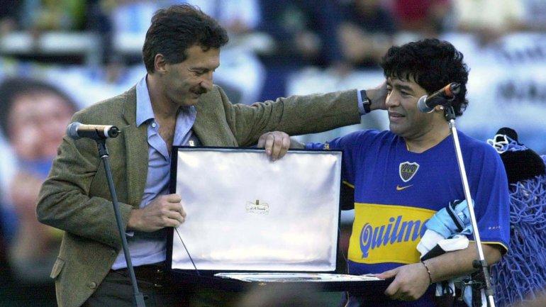 Maradona sobre Macri: «Aunque estén maldiciendo haber votado como votaron, ahora hay que bancar»