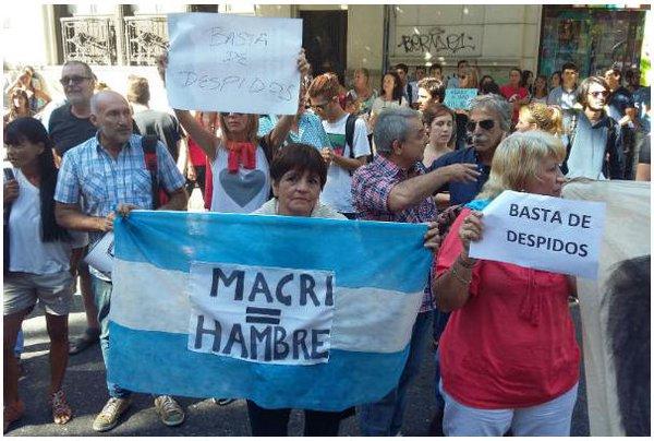 Macri fue fuertemente repudiado en su llegada a Rosario