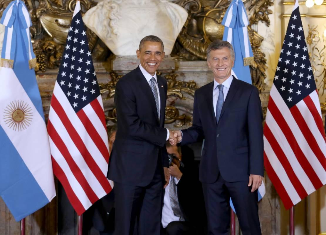 """El giro a la derecha con Macri: """"Estados Unidos está listo para trabajar con Argentina en esta transición histórica"""""""