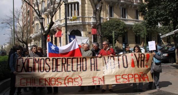 Cámara votará este martes proyecto que regula voto de chilenos en el extranjero