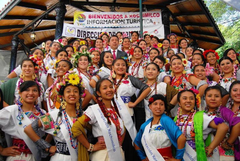"""Realizarán el certamen """"La Flor más Bella del Ejido"""" en Xochimilco"""