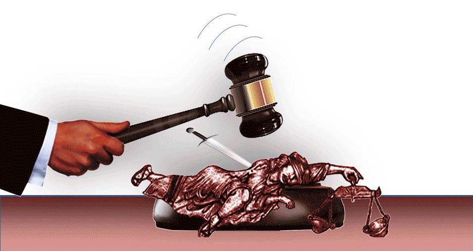 La Épica de Caimanes: Tres jueces violan la ley y se erigen por sobre la Corte Suprema