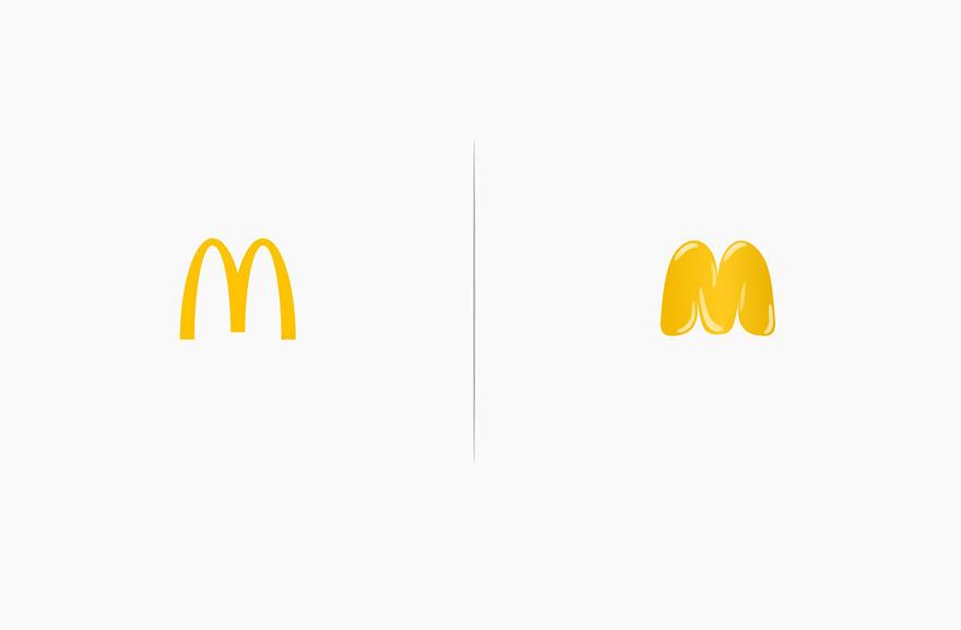 Los logos de las marcas afectadas por sus productos