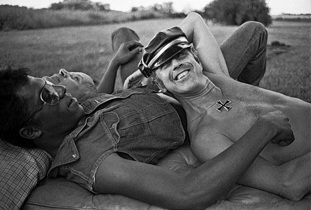 Las alucinantes fotografías de los motociclistas homosexuales de los años 60's