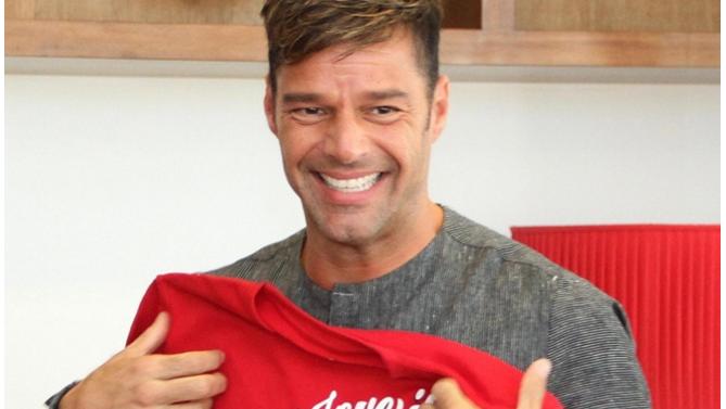 Ricky Martin: «Yo quiero un matrimonio igualitario para Chile»