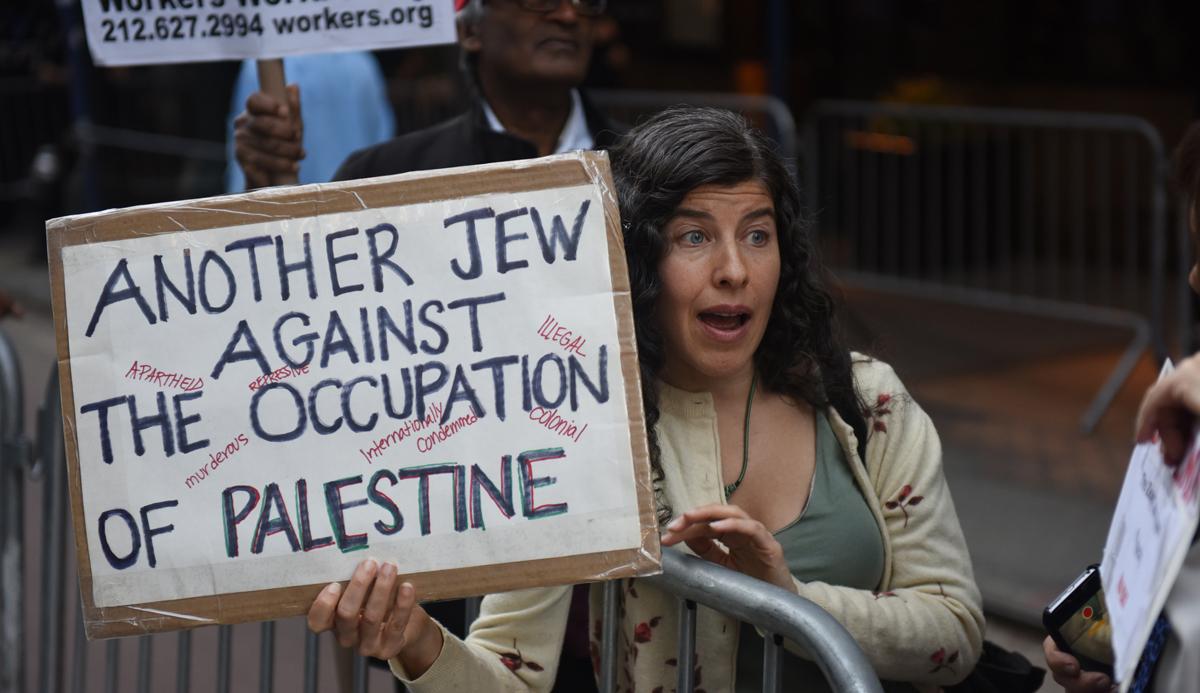 (Video) Judíos estadounidenses piden fin a la ocupación de Palestina