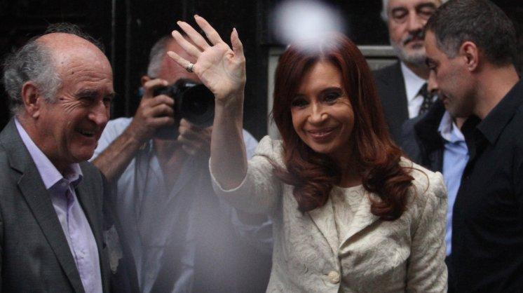 Quisieron escrachar a Cristina Kirchner a la salida del Instituto Patria