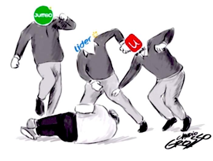 La colusión de Walmart, Paulmann y el grupo Saieh