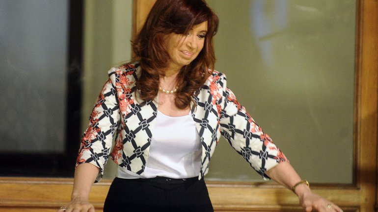 Cristina Kirchner se reúne con los senadores del Frente para la Victoria