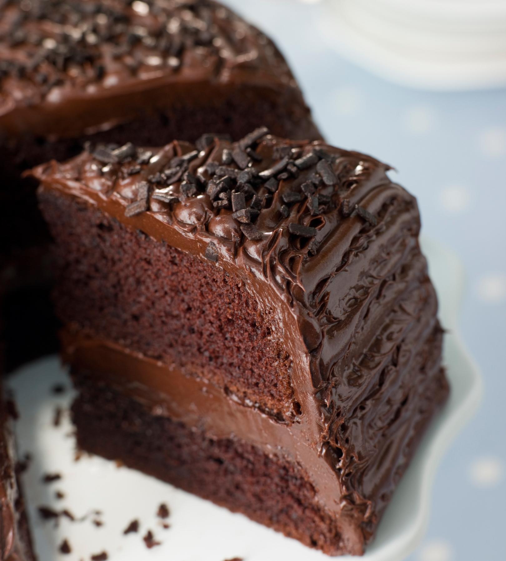 Deliciosa torta de chocolate ¡sin azúcar ni leche ni harinas!
