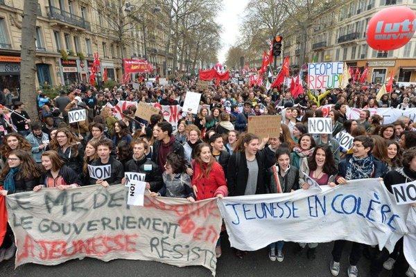 protestas francia