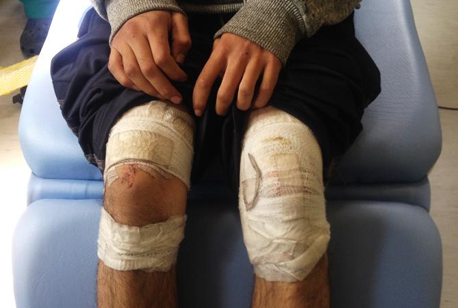 "Denuncian ""tortura"" de ""Carabineros"" a menor de edad mapuche que protestó contra el MOP"