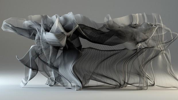 Esculturas animadas inspiradas en el movimiento del kung fu