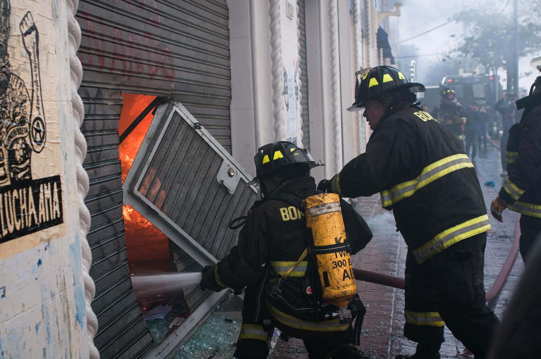 21 de mayo: Cámaras de seguridad fueron desconectadas media hora antes del inicio del incendio