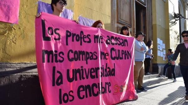 Mujeres de la Universidad de Chile publican manifiesto contra el acoso sexual