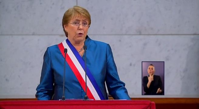 Las primeras reacciones a la cuenta pública de Bachelet