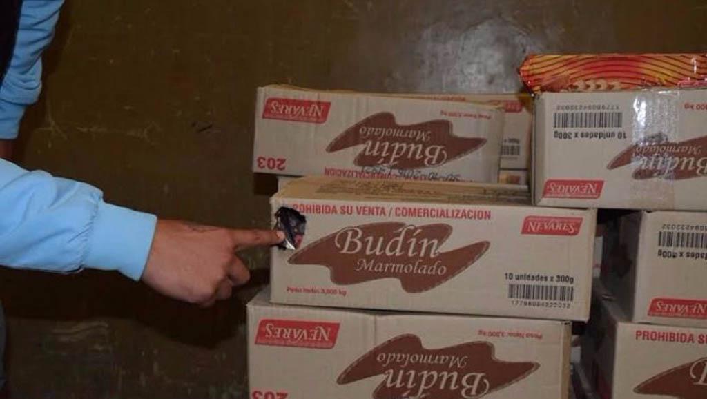 Vidal envió productos comidos por ratas a comedores y merenderos de la provincia