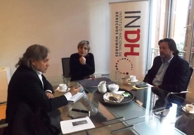 Senador Navarro y Diputado Jiménez respaldan actuar de Lorena Fries en el INDH