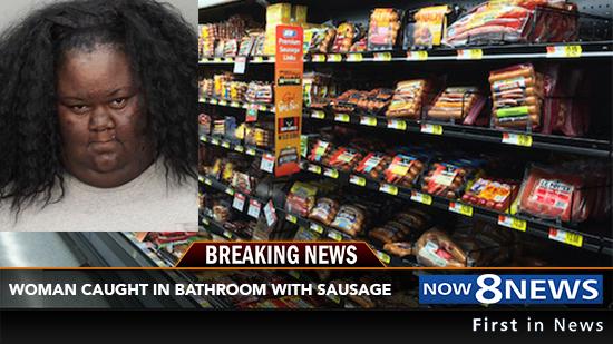 Arrestan a mujer en supermercado por masturbarse con paquete de salchichas