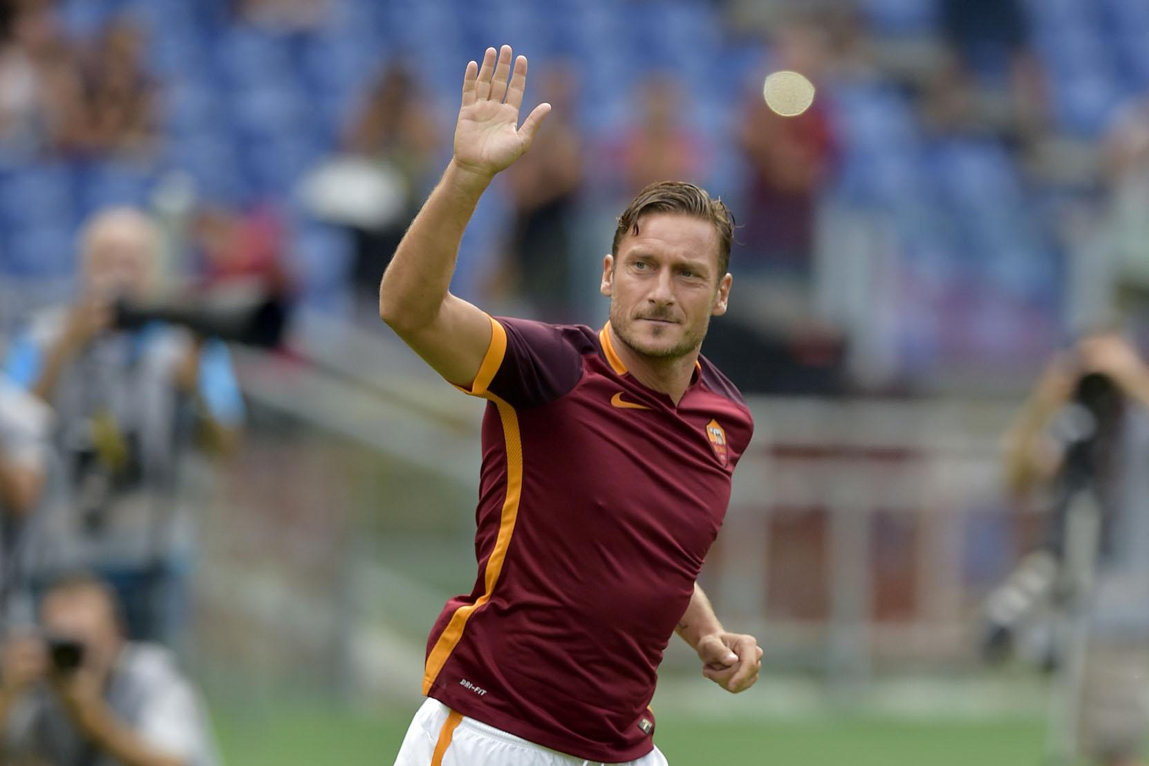 La emotiva carta de Totti a su club de toda la vida, la Roma