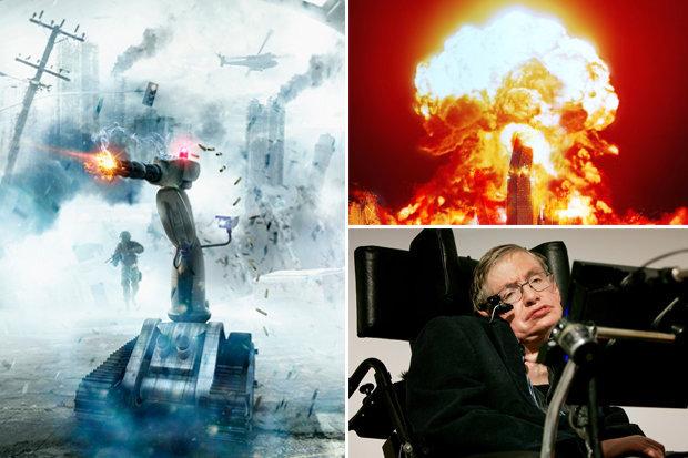Stephen Hawking predice que un futuro apocalíptico provocado por las máquinas es posible
