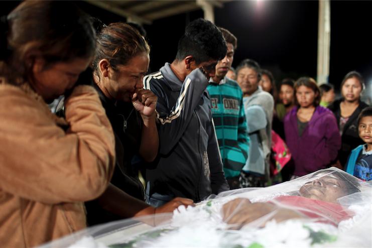 Grupos paramilitares dan muerte a indígenas en Matogrosso do Sul, Brasil