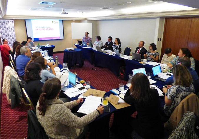 Espacio Público encabeza estudio regional para determinar factores que inciden en que jóvenes no estudien ni trabajen