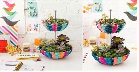 Cómo hacer un pequeño y colorido jardín para tener dentro de tu hogar